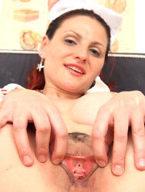 Elder amateur mom Beatrix 48 years old in mature HD porn video