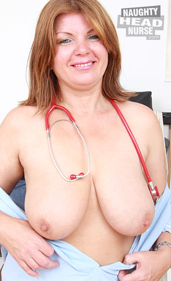 This nurse fetish video with Bohunka will bring you great mature gyno scenes and nasty solo action with several tools and sex toys