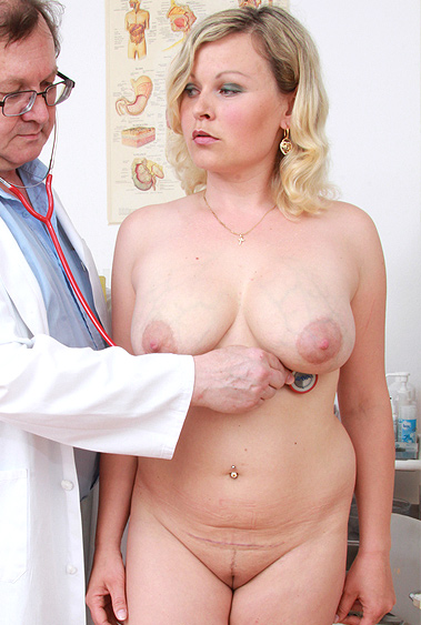 Kathy Sweet gyno pussy exam video HD