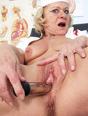 Her, she's mature age aprentice job MMMMMMM