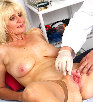 Hot young lady examined by doctors 2