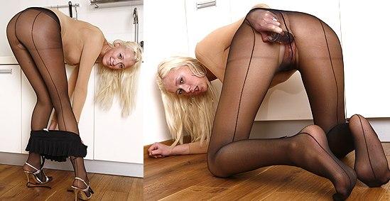 Teena Lipoldino at HideNylons.com